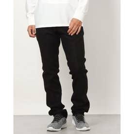 メンズ ゴルフ ロングパンツ 21M9CW Pants09 Like Flannel_ 3546224354 (ブラック)