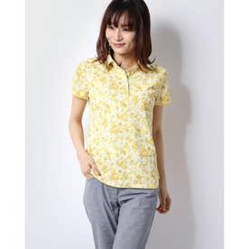 レディース ゴルフ 半袖シャツ 半シャツカラーシャツフラワープリント 2410134807
