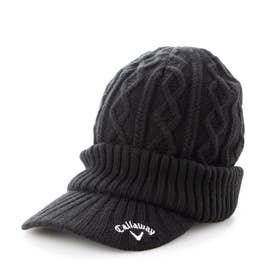 レディース ゴルフ ニット帽子 21W9CW Caps17 Cable Knit Cap 2_ 3546198686 (ブラック)