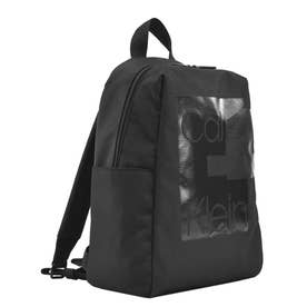 LAYERED ROUND BACKPACK (BLACK)