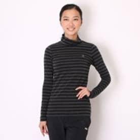 ゴルフシャツ ナガソデシヤツ(ニツト) CKL1104 (ブラック)