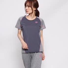 レディース 半袖Tシャツ RESNO スイッチングシャツ ショートスリーブ ウィメンズ AJEJB69S