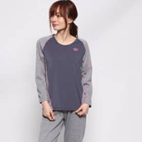 レディース 長袖Tシャツ RESNO スイッチングシャツ ロングスリーブ ウィメンズ AJEJA69S