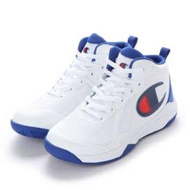 ジュニア バスケットボール シューズ CP BBW001 WINGS COURT ホワイト/ブルー/レッド 55170222