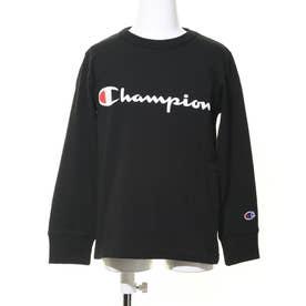 ジュニア 長袖Tシャツ CS6428 (ブラック)