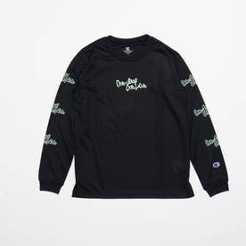 ジュニア バスケットボール 長袖Tシャツ MINI PRACTICE LONG TEE CK-SB417 (ブラック)
