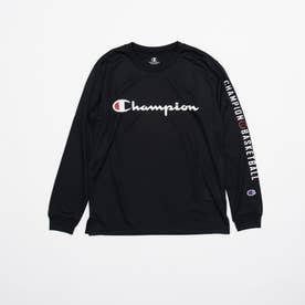 ジュニア バスケットボール 長袖Tシャツ MINI PRACTICE LONG TEE CK-SB418 (ブラック)