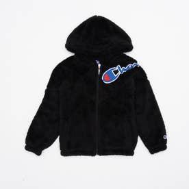 ジュニア フリースジャケット CX7548 (ブラック)
