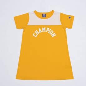 ジュニア 半袖Tシャツ チャンピオンアーチプリントワンピース_ CK-T355 (オレンジ)