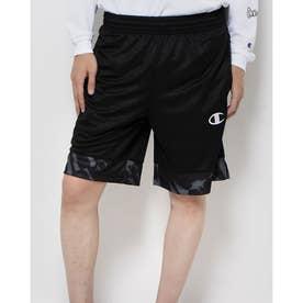 メンズ バスケットボール ハーフパンツ PRACTICE PANTS C3-SB512 (ブラック)