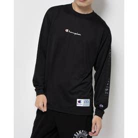 メンズ レディース バスケットボール 長袖Tシャツ DRYSAVER LONG TEE C3-SB451 (ブラック)