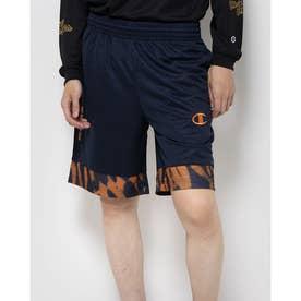 メンズ バスケットボール ハーフパンツ PRACTICE PANTS C3-SB512 (ネイビー)