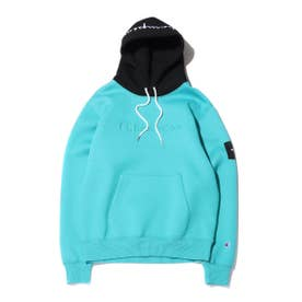 x ATMOS LAB WRAPAIR P/O HOODED SWEATSHIRT (EMERALD)
