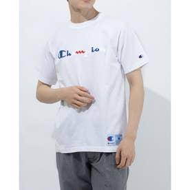 メンズ 半袖Tシャツ SHORT SLEEVE T-SHIRT C3-R305 (ホワイト)