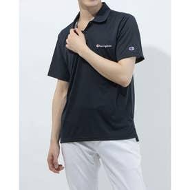 メンズ 半袖機能ポロシャツ POLO SHIRT C3-TS313 (ネイビー)