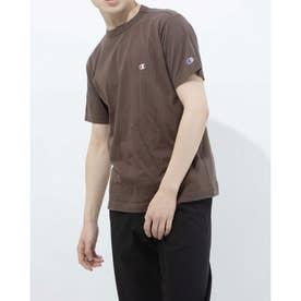 メンズ 半袖Tシャツ SHORT SLEEVE T-SHIRT C3-P300 (ブラウン)