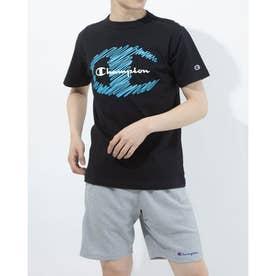 メンズ 半袖Tシャツ SHORT SLEEVE T-SHIRT C3-T309 (ブラック)