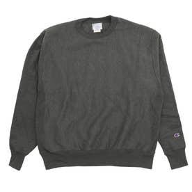 S1049 Adult Reverse Weave 12oz (CharcoalHeather)