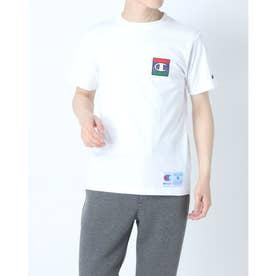 メンズ 半袖Tシャツ T-SHIRT C3-Q302 (ホワイト)