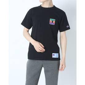 メンズ 半袖Tシャツ T-SHIRT C3-Q302 (ブラック)