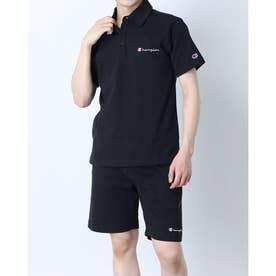 メンズ 半袖ポロシャツ SHORT SLEEVE POLO SHIRT C3-P306 (ブラック)