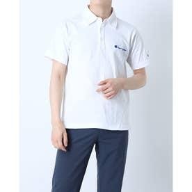 メンズ 半袖ポロシャツ SHORT SLEEVE POLO SHIRT C3-P306 (ホワイト)