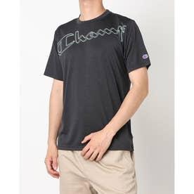 メンズ 半袖機能Tシャツ S/S T-SHIRT C3-TS315 (ブラック)