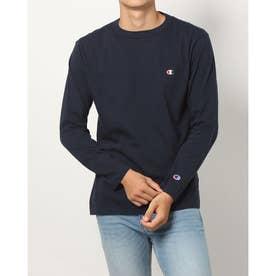 メンズ 長袖Tシャツ LONG SLEEVE T-SHIRT_ C3-P401 (ネイビー)