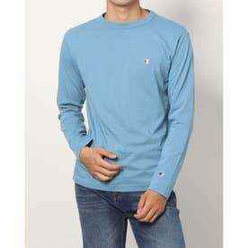 メンズ 長袖Tシャツ LONG SLEEVE T-SHIRT_ C3-P401 (ブルー)