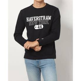 メンズ 長袖Tシャツ LONG SLEEVE T-SHIRT_ C3-U419 (ブラック)