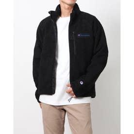 メンズ フリースジャケット ZIP JACKET_ C3-US603 (ブラック)