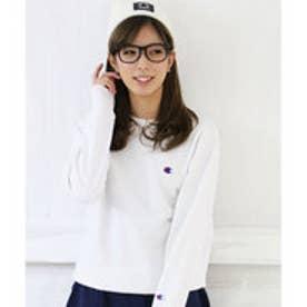 【Champion/チャンピオン】クルーネックスウェットシャツ C3-C019(ホワイト【010】)