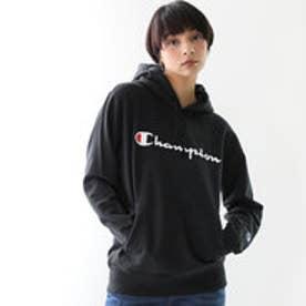 【Champion/チャンピオン】パーカー ロゴスウェット プリントパーカー C3-J117(ブラック【090】)