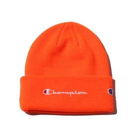 CHAMPION x ATMOS LAB KNIT CAP (ORANGE)