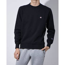 クルーネックスウェットシャツ(ブラック)