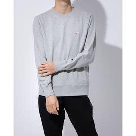 長袖Tシャツ (グレー)