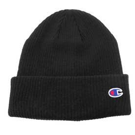 ニット帽 Cワッペン ワッチ (Black)