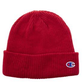 ニット帽 Cワッペン ワッチ (Red)