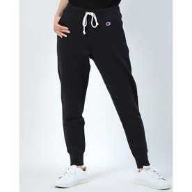 レディース スウェットロングパンツ SWEAT PANT CW-Q201 (ブラック)