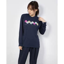 レディース バスケットボール 長袖Tシャツ WOMEN'S PRACTICE LONG TEE CW-SB414 (ネイビー)