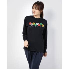レディース バスケットボール 長袖Tシャツ WOMEN'S PRACTICE LONG TEE CW-SB414 (ブラック)