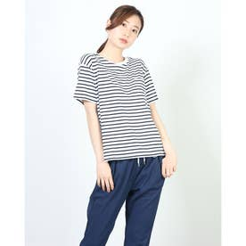レディース 半袖Tシャツ S/S BORDER T-SHIRT CW-T327 (ホワイト)