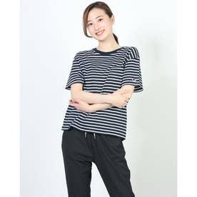 レディース 半袖Tシャツ S/S BORDER T-SHIRT CW-T327 (ネイビー)
