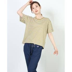 レディース 半袖Tシャツ S/S BORDER T-SHIRT CW-T327 (ブラウン)