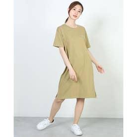 レディース 半袖Tシャツ ONEPIECE DRESS CW-S304 (ブラウン)
