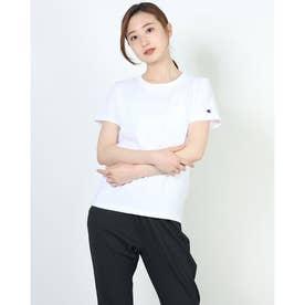レディース 半袖Tシャツ POCKET T-SHIRT CW-M321 (ホワイト)