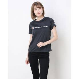 ウィメンズ半袖Tシャツ ロゴT C-VAPOR T-SHIRT (ブラック)