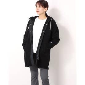 レディース フリースジャケット COAT_ CW-US603 (ブラック)