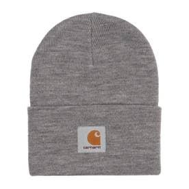Carhartt/ビーニー ニット帽 I020175 (グレー×ホワイト)