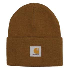 Carhartt/ビーニー ニット帽 I020222 (ブラウン)